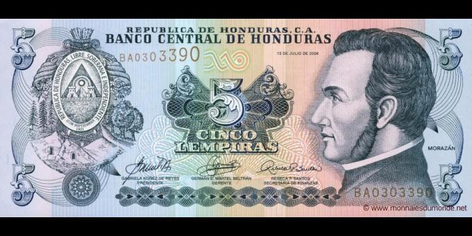 Honduras-p91a