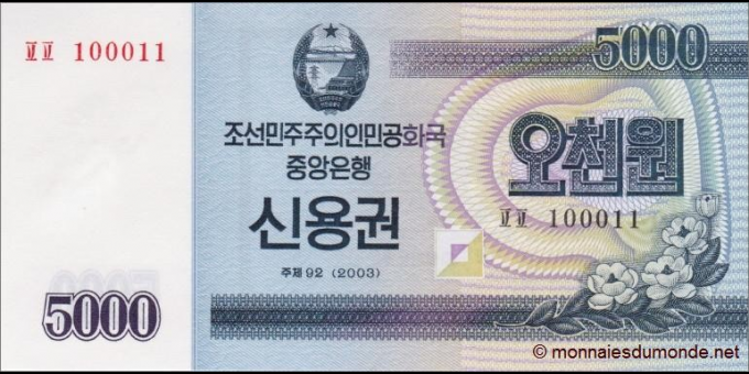 Corée du Nord-pNew