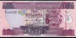 Salomon - p27c - 10Dollars - ND (2009) - Central Bank of Solomon Islands