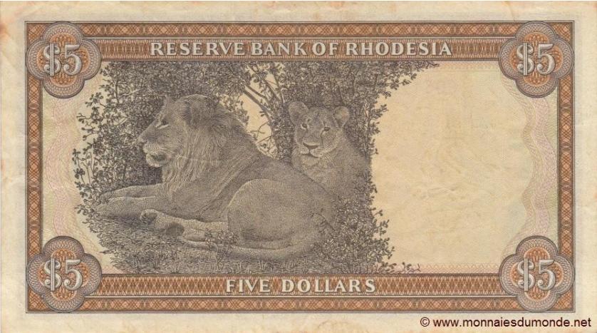 billet de Rhodésie